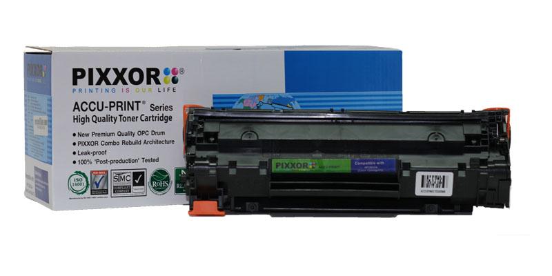 ตลับหมึก PIXXOR สำหรับ HP Cartridge CB435A