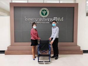 พิกเซอร์ร่วมบริจาครถเข็นผู้ป่วยแก่โรงพยาบาลประจำจังหวัดทั่วประเทศ