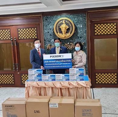 ร่วมบริจาคตลับหมึกให้สำนักกรุงเทพมหานคร จำนวน 100 ตลับ